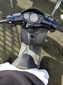 Piaggio typhoon 125 4t 2012 spares or repairs new tryes brake levers
