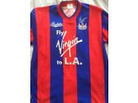 Original Palace 1990 FA Cup top