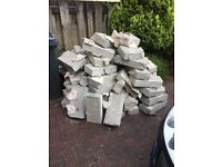 FREE - Hardcore/Rubble Concrete Blocks