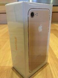 iPhone 7 32gb rose gold unlocked brand new