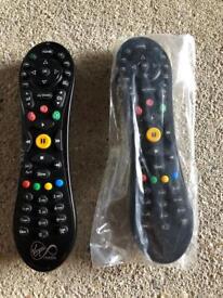 Remote control x 2, virgin media