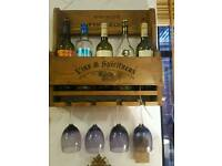 IDEAL XMAS GIFT. HANDCRAFTED WINE RACK