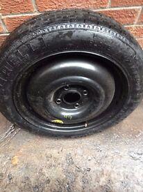 "*** Ford Focus MK1 1998-2004 15"" Space Saver Wheel & Tyre (125/80/15) ***"