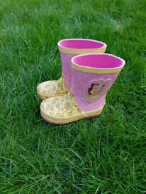 Beauty and the Beast Belle Wellies size 5