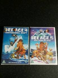 Ice Age DVDS (brand new, still sealed)