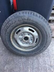 Ford Transit 205 x 75 x 16 Goodyear brand new tyre