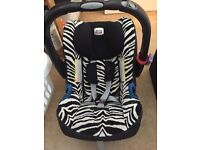 Newborn car seat to about 1 years old
