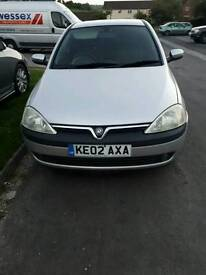 SWAP Vauxhall Corsa