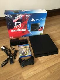 Ps4 console boxed bundle