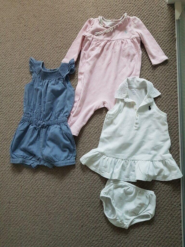 bd00c92a Ralph Lauren - 9 months, 3 girls outfits | in Southfields, London | Gumtree
