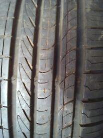 New tyres x2