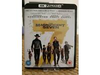 THE MAGNIFICENT SEVEN 4K ULTRA HD BLU RAY