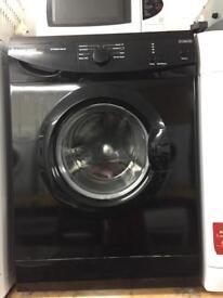 Russell Hobbs black good looking 6kg 1200spin washing machine