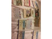 Football old tickets
