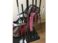 Ladies half set golf clubs