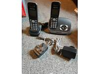 Panasonic cordless digital house phone with answering machine