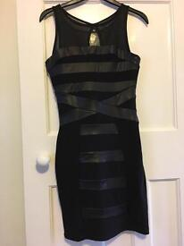 Black dress size 8 fab condition
