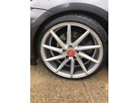 BMW 5x120 19s VOSSEN CVT STYLE CONCAVE ALLOYS STAGGERED