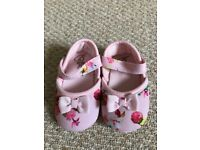 Ted baker baby shoes 3-6 months