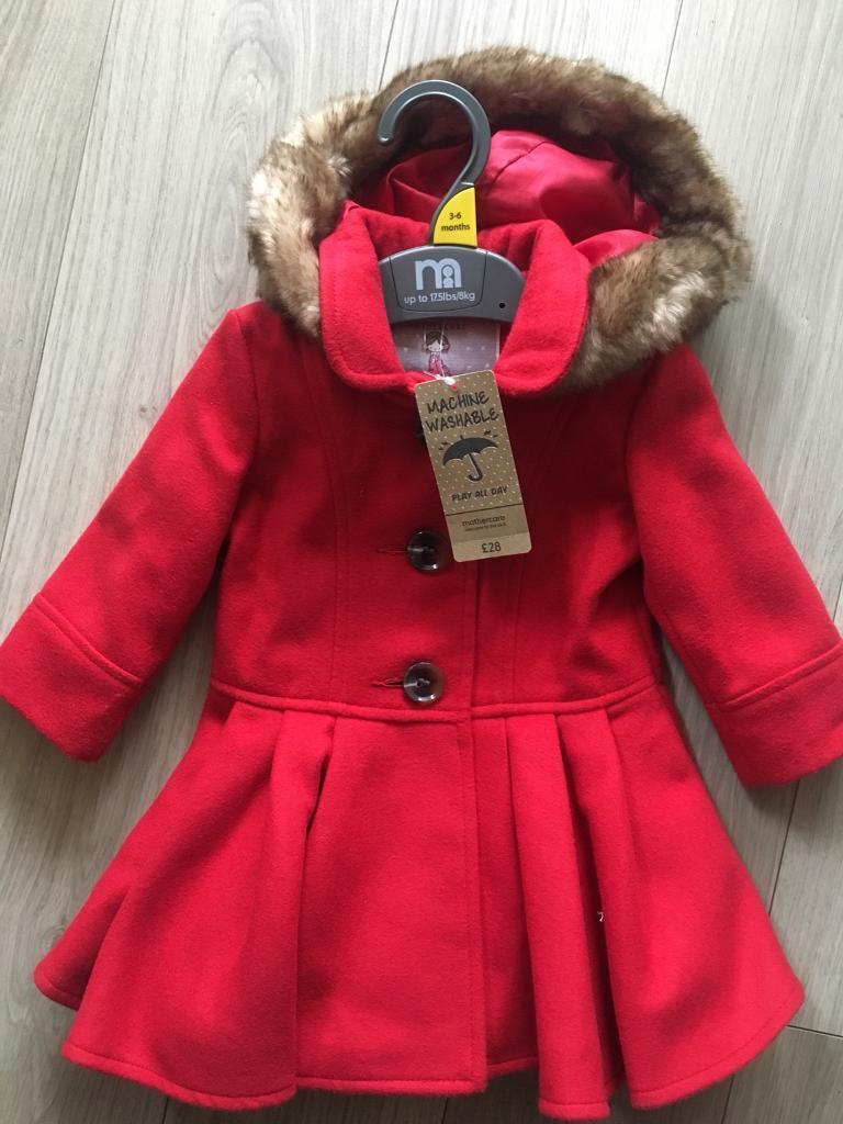 0c79155d413d BNWT baby girl coat