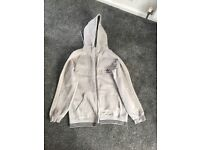 Grey Adidas Hoodie, size large in perfect condition.