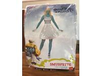 Smurfette fancy dress outfit medium