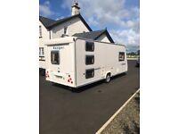6 berth triple bunk bailey ranger caravan for sale