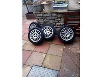 Ford fiesta Zetec s wheels