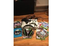 Xbox 360, games, headset, 2 controller + all good quality. Games = Black Ops 2, GTA, Minecraft+ more
