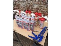 Resin! Wurth Chemical Anchor System & Fischer Polyester Resin 20 bottles!!