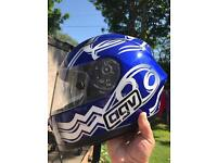 Agv GP pro motorbike helmet.