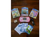VTech MobiGo 2 in pink with four games
