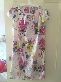 BNWT Floral shift dress size 16