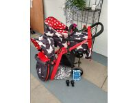 Cosatto Giggle 2 Pram & Pushchair - used and in excellent condition. Collection only. £200.