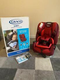 New Graco slim fit 0/1/2/3 car seat
