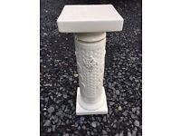 Ornate ceramic plant stand