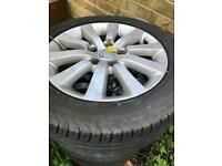 Honda Civic EP2 Sports Tyres