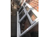 Upvc window with opening 2440 x 1220