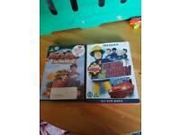 Fireman sam and roary the racing car dvd