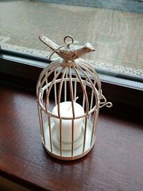 Wedding Bird Cage Candle Holders - Great Table Centre Piece/accessories.