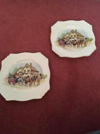 Vintage plates - small - Royal Winton