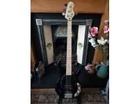 Vintage V96 4 string bass guitar