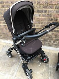 Silvercross Wayfarer Black and Accessories - Immaculate Condition