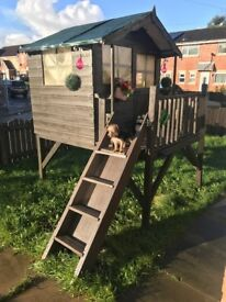 Wood play house