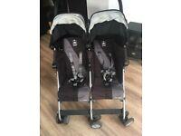 Maclaren twin buggy
