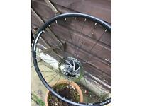 27.5 mountain bike wheel