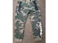 Xl camo jogging bottoms