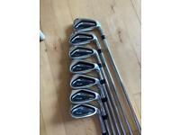 Cobra F9 One length irons 5-SW (7 Clubs)