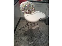 Graco highchair excellent condition.