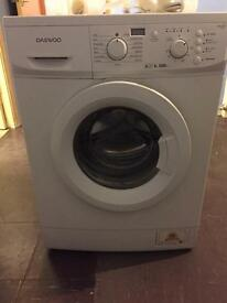 Daewoo 6kg 1200 rpm a++ washing machine
